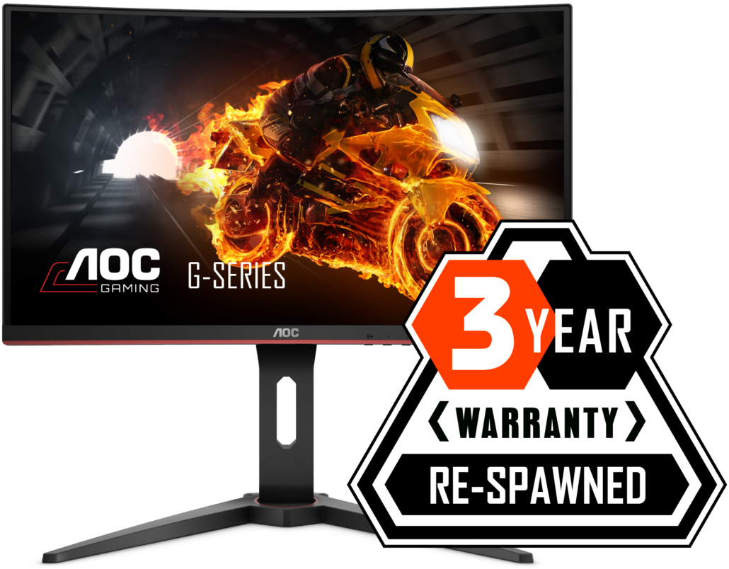 AOC Gaming Re-Spawned 3 Years Warranty