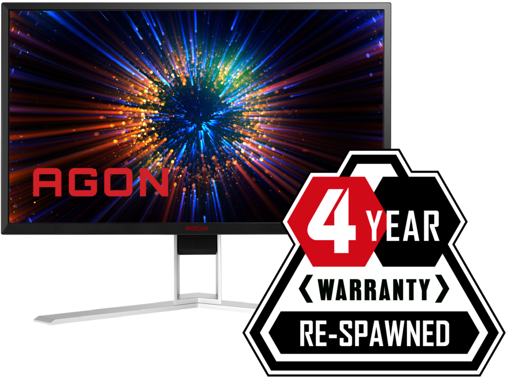 AGON Re-Spawned 4 Years Warranty